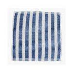 Vaatdoek blauw/wit gestreept 12 stuks