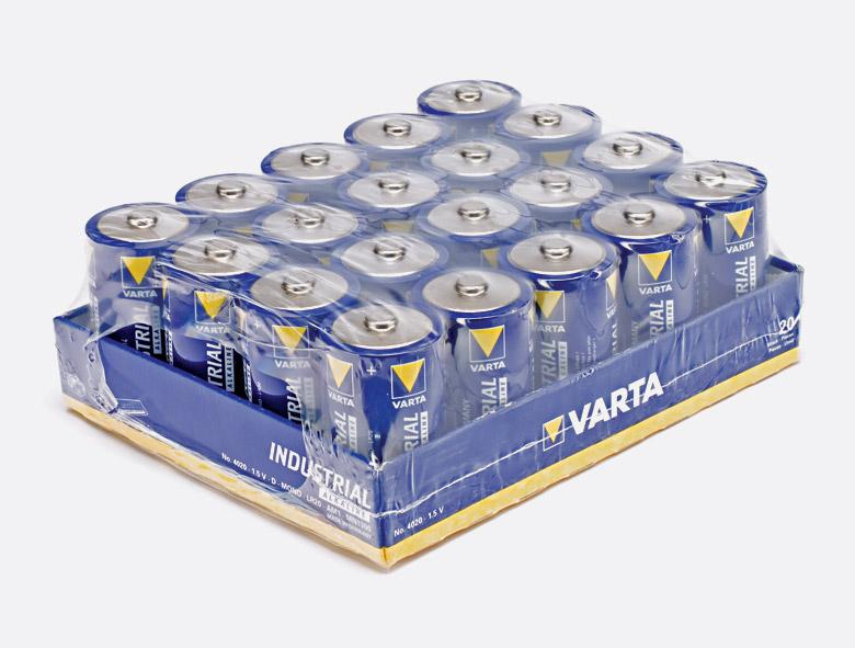Varta Industrial C-batterij 20 stuks